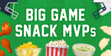 The Snacktime Report: The Top Scoring Game-Day Snacks