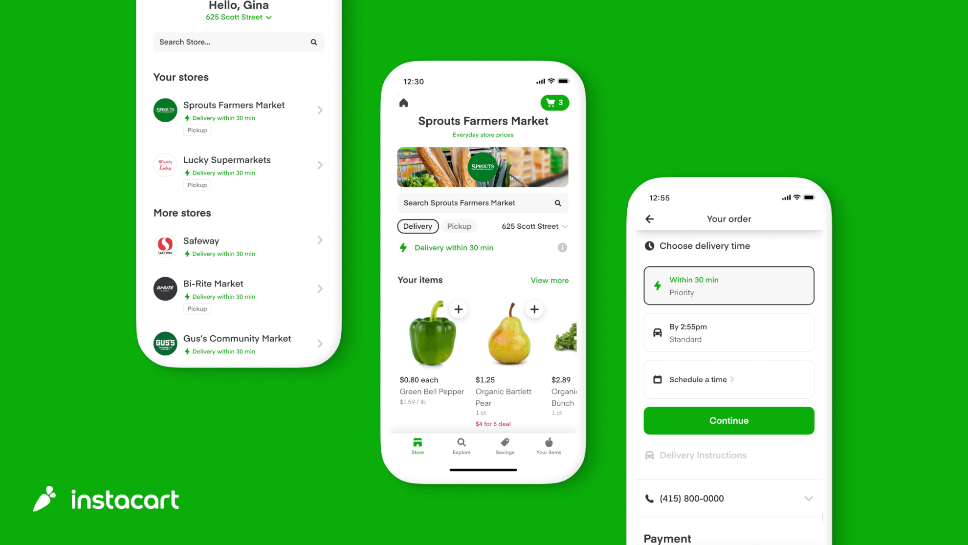 """Instacart Launches """"Priority Delivery"""" & Introduces 30-Minute Grocery Delivery"""
