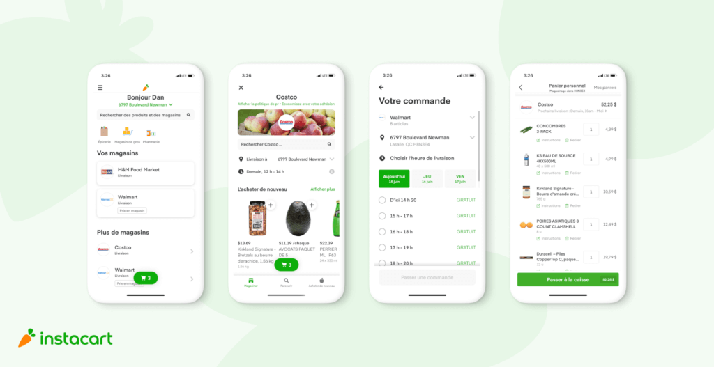 Introducing Same-Day Grocery Delivery & Our First French-Language Experience in Quebec
