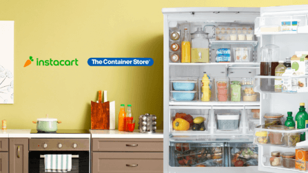 Celebrating The Container Store's National Expansion with Instacart