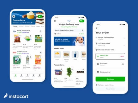 Introducing Kroger Delivery Now and the Instacart Convenience Hub