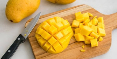 How to Cut a Mango with Step-by-Step Instructions