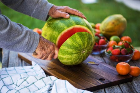 How to Cut a Watermelon with Step-by-Step Instructions