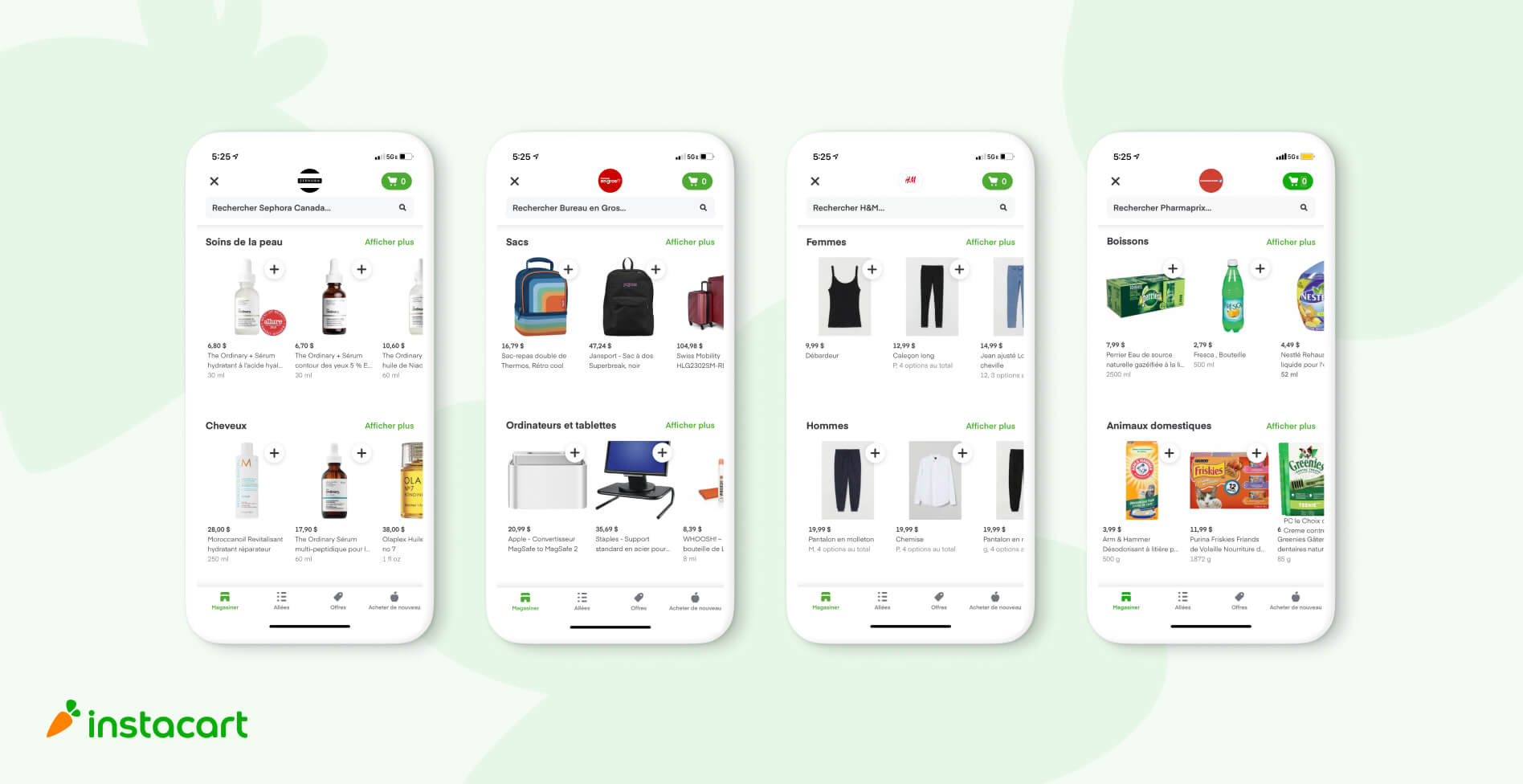 Instacart Announces Expansion Across Quebec to Reach 90% of Canadian Households