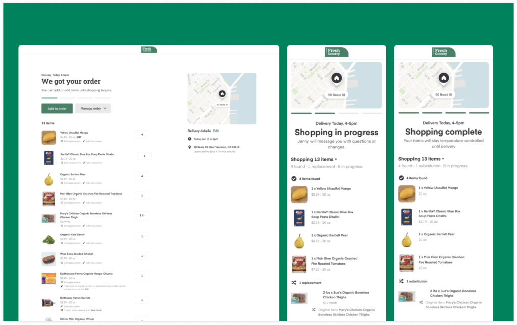 Expanding our APIs to support the post-checkout experience